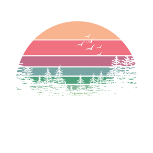 Lake Life Lake Life Cuz Strände sind salzig Retro