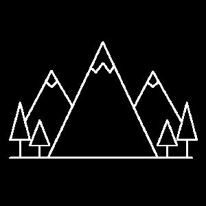 bergeWaldWeiß