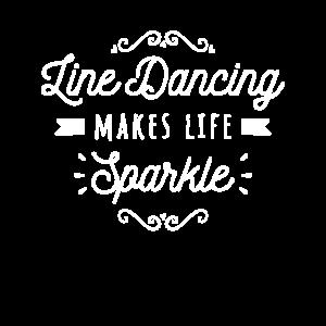 Line Dancing lässt das Leben funkeln