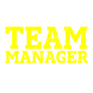 Because i`m the team manager that`s why Geschenk