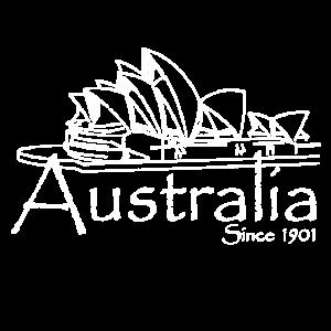 Australia Oper Vintage Australien Reise Geschenk