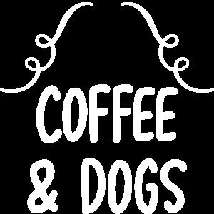 Kaffee und Hunde Verzierung