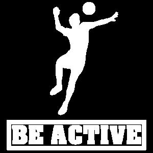 Sei aktiv
