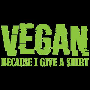 Vegan Veggie Fleischfrei Spruch Geschenk