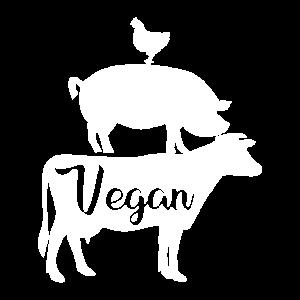 Vegan Fleischfrei Tierschutz Geschenk