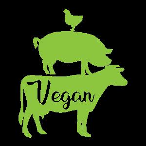 Vegan Animal Rights Fleischfrei Geschenk