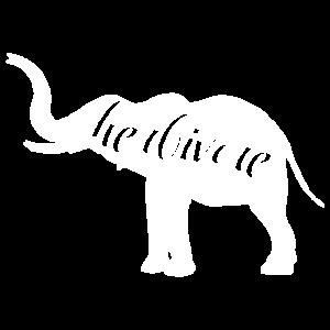 Vegan Elefant Fleischfrei Geschenk