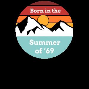 50. Geburtstag Summer of 69 Geschenk T-Shirt
