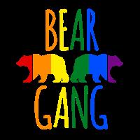 lustiges Mallorca Gruppen T-Shirt | Bear Gang LGBT