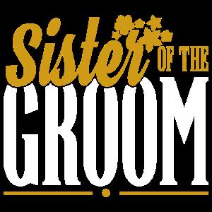 Schwester des Bräutigams