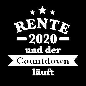Rentner 2020 T-Shirt zur Pensionierung