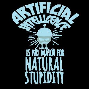 Lustiger Künstliche Intelligenz Spruch