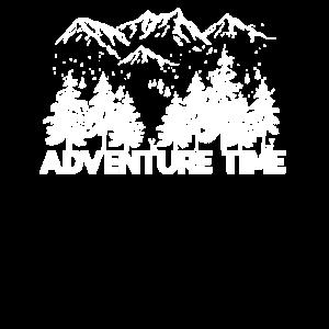 Abenteuer Berge Wandern Wanderer Geschenk