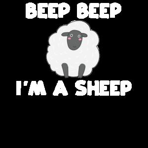 Beep Beep Ich bin ein Schaf Funny Animal Puppy Farm