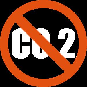 CO2 Verbot Schild Klima