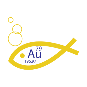 Au Chemisches Element Goldfisch Geschenk