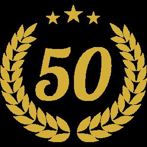 Goldene Hochzeit 50. Geburtstag Jubiläum