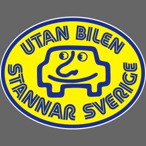 Utan bilen stannar Sverige färg