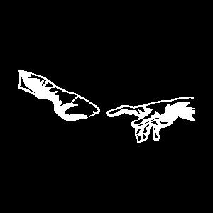 Pferde hufe hand