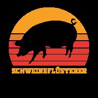 Schwein Schweine Schweineflüsterer