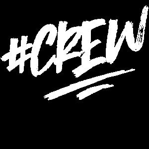 crew hashtag