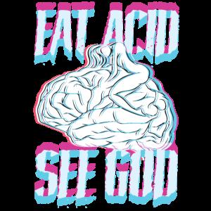 Acid Washed Shirt LSD
