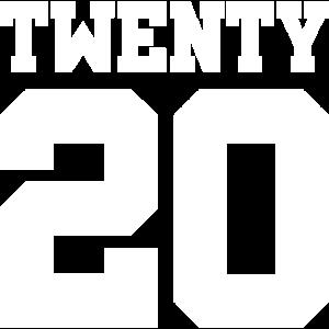 Geburtstag Jahreszahl Twenty Geschenk 2020 20