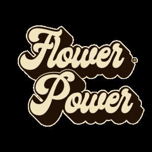 Flower Power brown 70tees