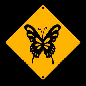 Gefahr Schmetterlinge