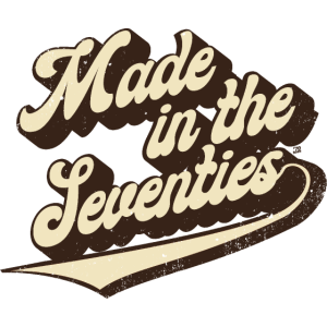 Made in the Seventies white 70tees