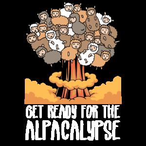 Alpaka Lustig Get Ready for the Alpacalypse
