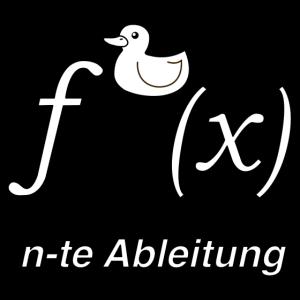 Ente Ableitung Mathe Witz (SW)