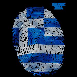 Greek DNA. Proud Greek Flag. Greek Family Roots