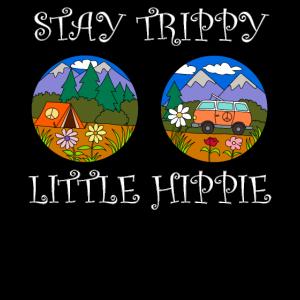 Hippie Brille Trippy Camping Wandern Reisen Camp