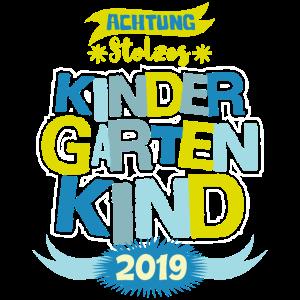 Kinder Stolzes Kindergartenkind 2019