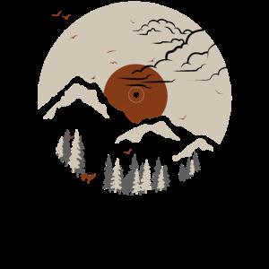 Berg in Aufzeichnung 2
