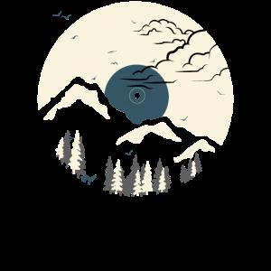 Berg auf Rekord - Blau