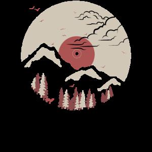 Berg auf Rekord - Pink