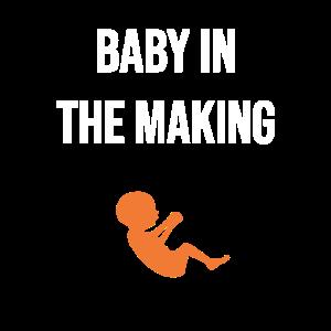 Baby in Produktion Kleinkind