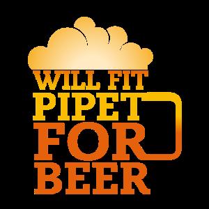 passt Pipette für Bier