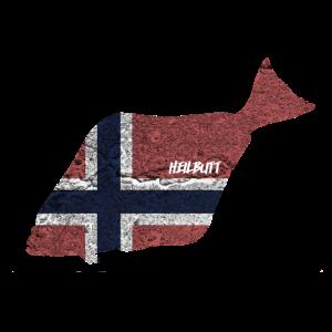 Heilbutt - Angeln in Norwegen