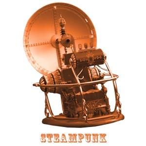 Steampunk Zeitmaschine