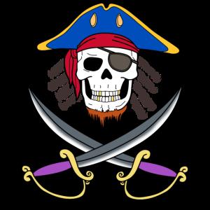 Pirat Schädel Totenkopf Seeräuber Raub Abenteurer
