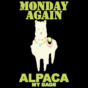 Alpaca monday again
