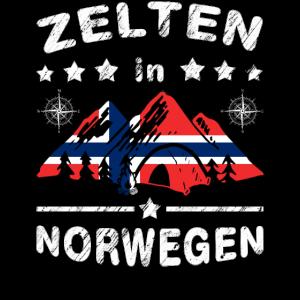 Camping in Norwegen, Skandinavien Abenteuer Urlaub