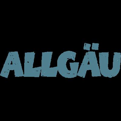 Allgäu Vintage Blau - Allgäu Design im Retro Vintage Stil - sonthofen,schwaben,mindelheim,landschaft,land,kempten,kaufbeuren,immenstadt,füssen,dillingen,biberach,altusried,alpen,allgäuer,allgäu