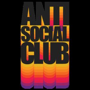 Anti Social Club Tshirt: Nerdy Geeky Anti Social C