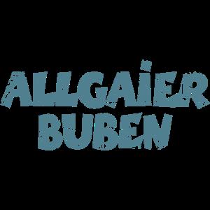 Allgaier Buben aus dem Allgäu (Vintage Blau)