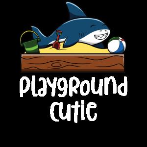 Spielplatz Cutie lustige Shark Sand-Box Ball Zeichnung