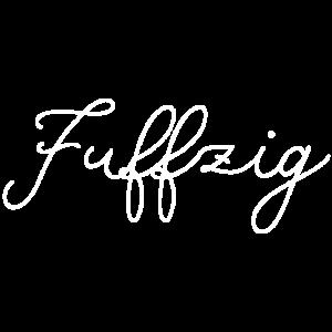 Fuenfzig 50 Geburtstag Geschenk Shirt